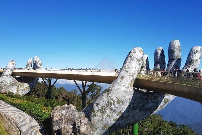 Golden Bridge,Cable Car Ride via Jungle,Photo Opportunity & My Son Holyland Tour