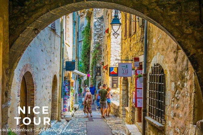 Pueblos de la Riviera francesa y la campiña desde Niza