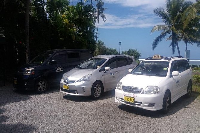 Private vehicle transfer Nadi Airport to Fiji Marriot Resort, Momi Bay (1-4 Pax)