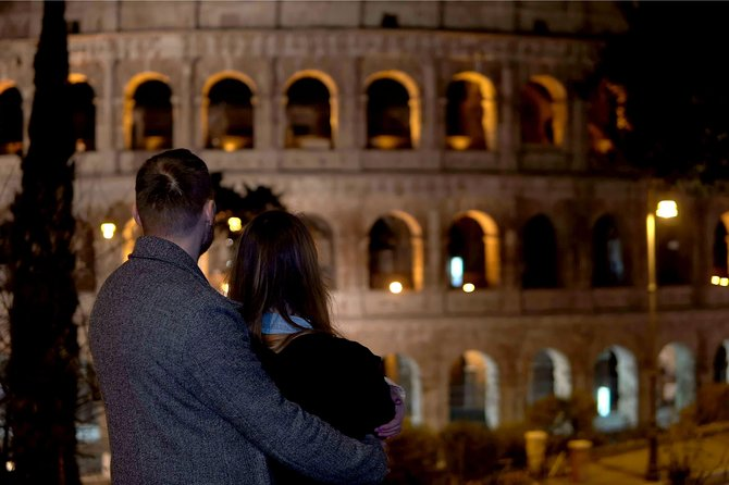 Charming Rome by Night - Private Chauffered 2 Hour Tour