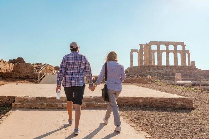 Temple of Poseidon & Cape Sounion Half Day Luxury Private Tour