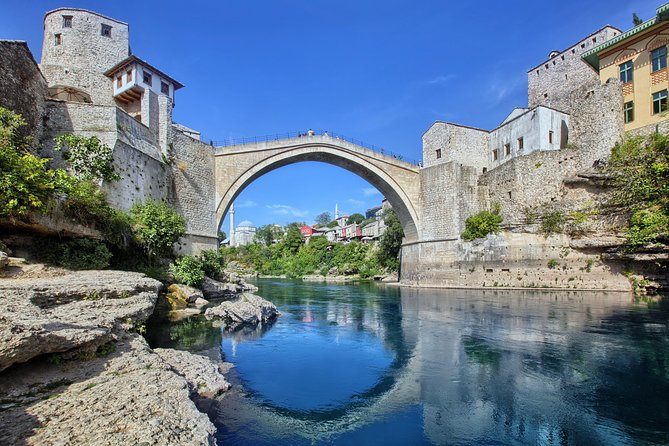Private Dubrovnik to Split transfer with Mostar tour