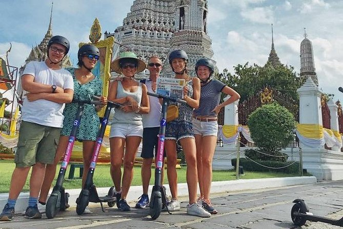 Electric Scooter Tours Bangkok-Historical Sites photo 3