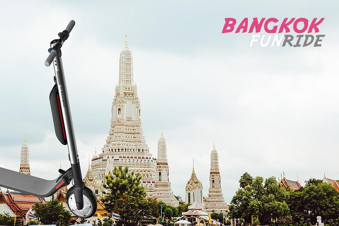 Electric Scooter Tours Bangkok-Historical Sites photo 6