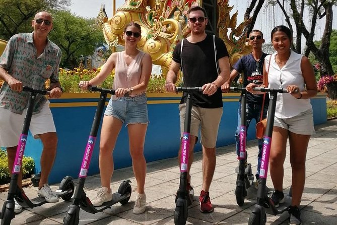 Electric Scooter Tours Bangkok-Historical Sites photo 4
