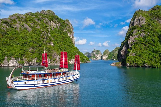 Amazing Sails-The Most Luxurious Day Tour in Ha Long Bay ( Tour from Hanoi )