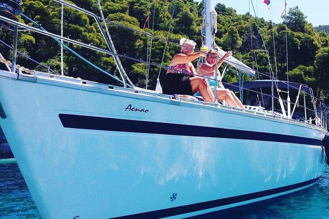 Day Sailing trips to Skopelos and Skiathos