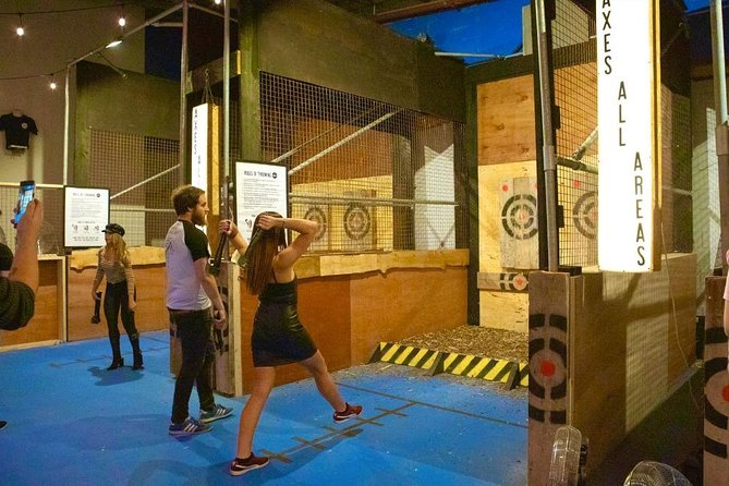 Axe Throwing Lesson Belfast