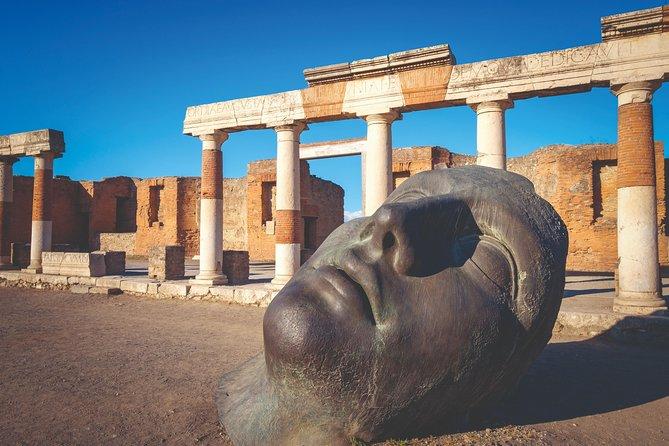 Nápoles y Pompeya: Excursión de un día completo desde Roma con almuerzo