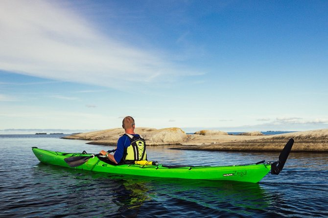 4-day kayaking adventure around Vaxholm in Stockholm Archipelago - self guided