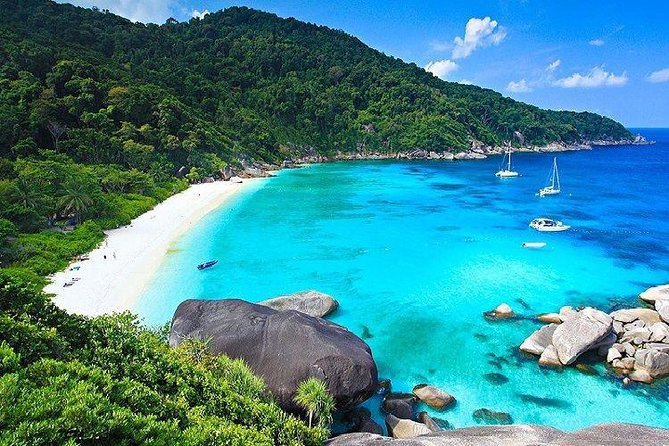 Top Similan Island include Everything From Phuket By Catamaran