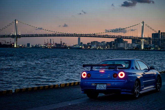 Driving Experience With Nissan Skyline GTR34 in Tokyo / Shibuya Crossing Course photo 4