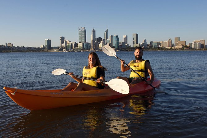 Double Kayak Hire Perth City