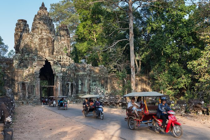 Three-wheeled exploration of the Angkor temples