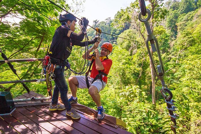 Flying Hanuman Ziplines 28 platforms with free transfer
