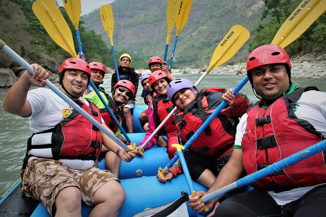 1 Night 2 Days Kaligandaki River Rafting