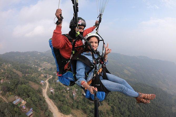 Tandem Paragliding Flight (Normal)