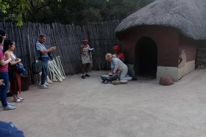 Lesedi cultural village half day tour