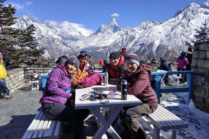 Everest Base Camp trek total 14 days
