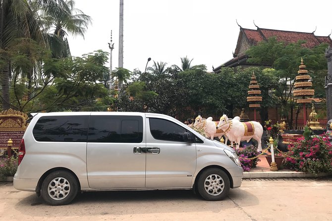 private taxi in Angkor wat temple and other place- provinces in Cambodia.