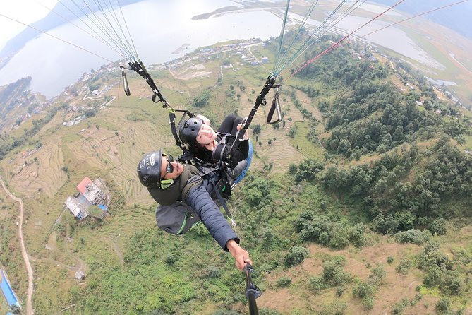 Tandem Paragliding Flight (Cross Country)