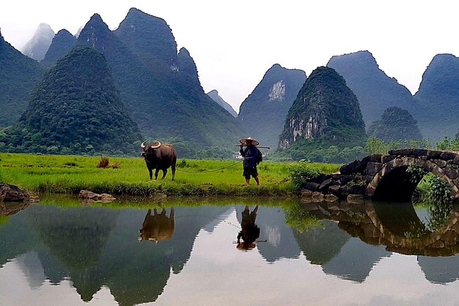 Guilin Yangshuo Day tour from Guangzhou by Round Way Bullet Train