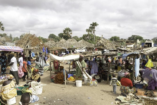 The weekly market in the bush