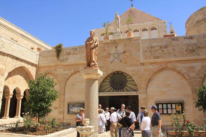 Jerusalem, Bethlehem and Dead Sea tour from Tel Aviv