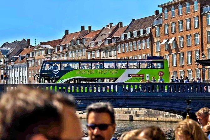 Copenhagen Hop On - Hop Off Classic & Tivoli Skip-the-line entrance ticket