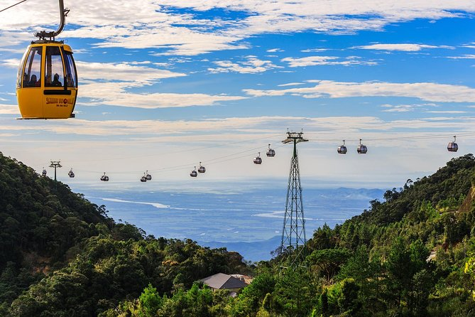 From Da Nang to Ba Na Hill with full package: Buffet Lunch, Cable Car Ticket