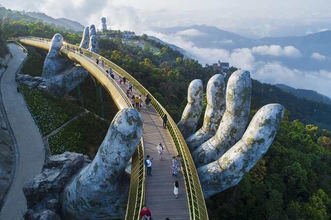 Marble mountains and Ba Na hills full day tour