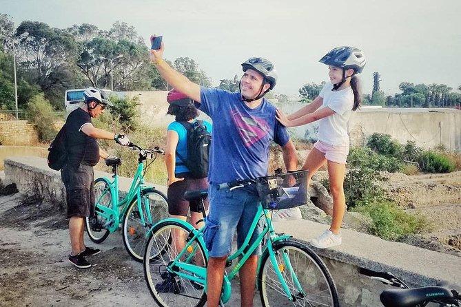 Visite de Carthage en vélo électrique en solo