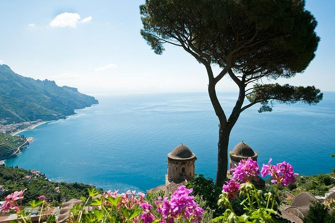 Best tour Ravello, Amalfi, Positano, Sorrento, Pompeii (FullDay Plus 10h)