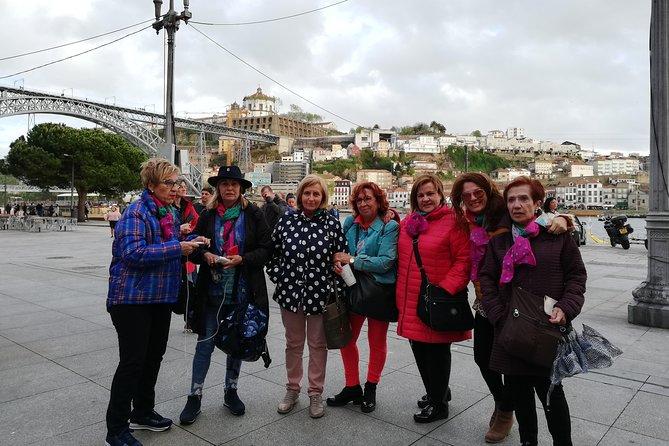 Authentic Oporto Walking Tour with Wine Tasting