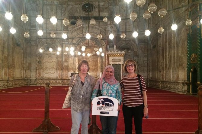 Spectacular Day tour to The Pyramids, Sphinx, Coptic Cairo and Bazaar