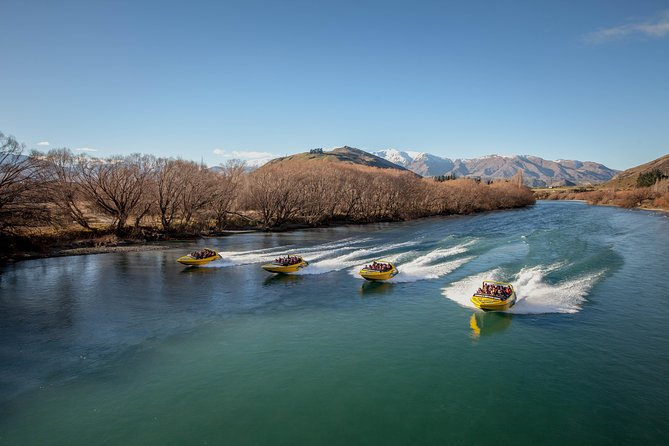 Queenstown 60 minute Jet Boat Ride on the Shotover & Kawarau Rivers