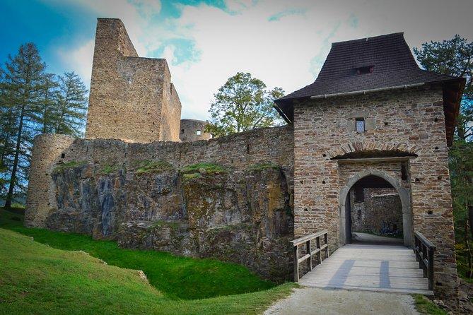 Medieval castles in Bohemia mountains