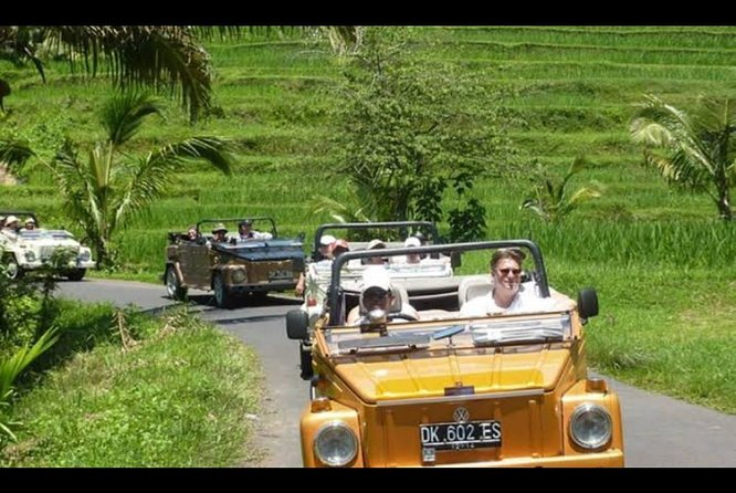 Best Ubud Rice Field Trip with VW Safari and White Water Rafting