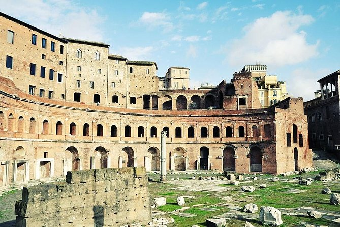 Trajan Market and Forum Museum In Private Guided Tour