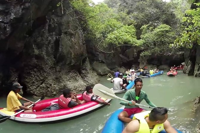 James Bond Island Sea Canoeing Tour from Krabi with Lunch