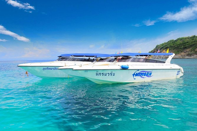 Racha & Coral Islands Day Tour by Speedboat