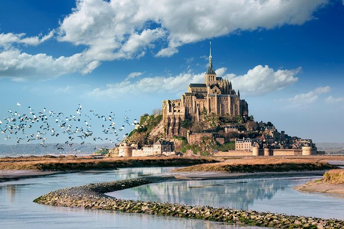 Private tour to to the abbey of Mont Saint-Michel, Normandy from Paris