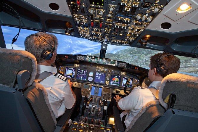 Boeing 737-800 flight simulator session. Ultimate - 90 Mins