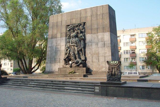 Warsaw: Jewish Ghetto Private Walking Tour - True History