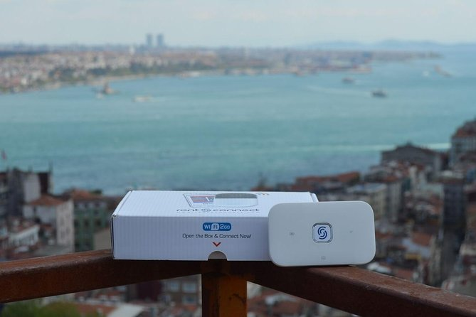Istanbul: Unlimited 4G/LTE Internet in Turkey with mobile WiFi hotspot