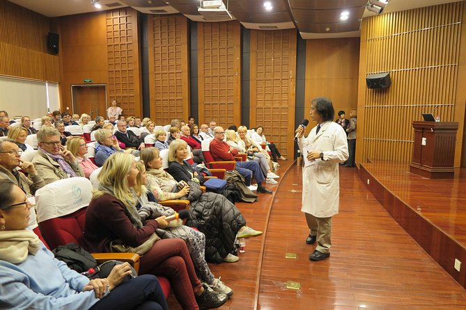 Traditional Chinese Medicine LED Talk and Educational Hospital Tour photo 8