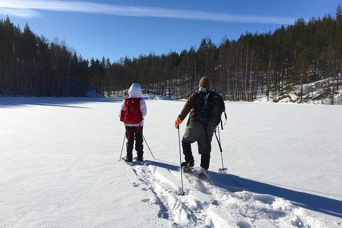 Winter adventure from Savonlinna to Punkaharju