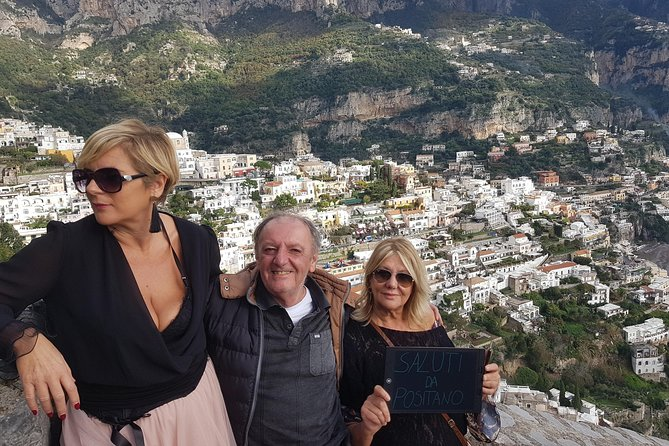 Transfer to Positano
