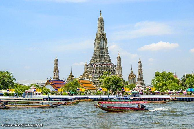 Travelling to Thonburi Klongs with Grand Palace and Arun Temple in Bangkok