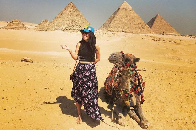 Half Day Private Tour To Giza Pyramids Sphinx With Camel Ride from Cairo Or Giza